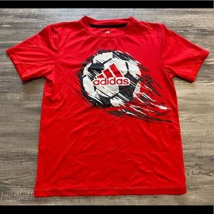 Adidas Climalite Soccer Athletic Tee